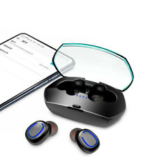 TWS Wireless Earphones Bluetooth 5.0 Headphones Sports Earbuds For IOS Android