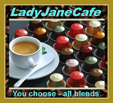 10+ NESPRESSO COFFEE CAPSULES PODS. CHOOSE ANY BLEND