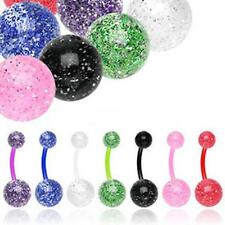 Bioflex Bauchnabel Piercing Ultra UV Glitter Must Have