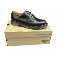 Dr Martens 1461 Unisex Classic Airwair 3 Eyelet Uniform Shoes Black Mens Womens