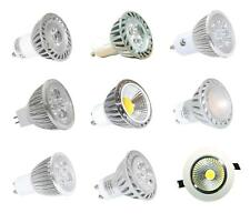 GU10/MR16 4, 6, 8w High Power, LED Energy Saving Light bulbs, COB, spot, Savings