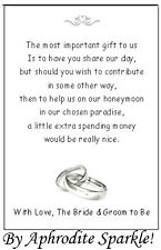 Poems In Wedding Invitations Asking For Money New