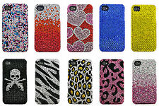 Brand New Bling Crystal Shell Case Cover for Apple iPhone 4 iPhone 4S
