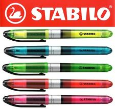 Stabilo Navigator Liquid Ink Highlighter Pens PACKS OF 10 All Colours Available