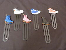 FUNKY BOOT / TRAINERS BOOKMARK / GIANT PAPER CLIP IDEAL CHILDREN OR ADULT