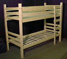 "Chunky bunk bed, 2'6"" or 3' widths (76 or 91cm Mattresses) Really sturdy beds."