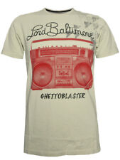 "LORD BALTIMORE Herren TShirt ""GHETTOBLASTER"" in weiß by ed hardy Design Audigier"