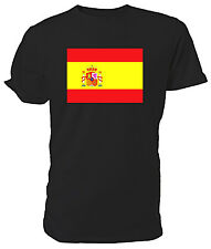 Spanish Flag T shirt - Choice of size & colours!