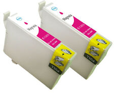 2 XL Magenta For Epson ET-T1303 Ink Cartridges