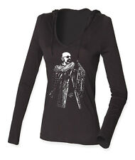 ROB HALFORD ...ON LADIES LONG SLEEVE HOODED T-SHIRTS