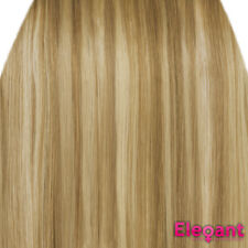 Clip in Hair Extensions STRAIGHT Blonde Mix #18/613 FULL HEAD