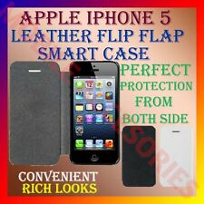 ACM-LEATHER FLIP FLAP SMART COVER for APPLE IPHONE 5 MOBILE CASE POUCH PROTECTOR