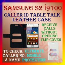 ACM-CALLER ID TABLE TALK CASE for SAMSUNG GALAXY S2 I9100 MOBILE FLIP COVER NEW