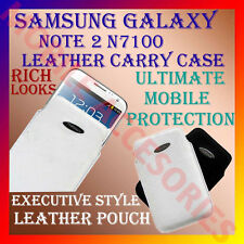 ACM-VERTICAL LEATHER CARRY CASE POUCH COVER for SAMSUNG GALAXY NOTE 2 N7100 NEW