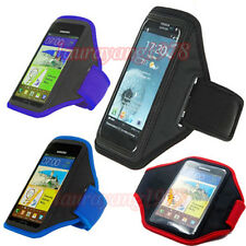 SPORT WORKOUT RUNNING JOGGING GYM ARMBAND CASE COVER for VARIOUS SAMSUNG PHONES