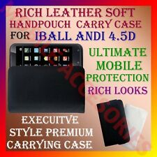 ACM-RICH LEATHER SOFT CARRY CASE IBALL ANDI 4.5D MOBILE HANDPOUCH COVER LATEST