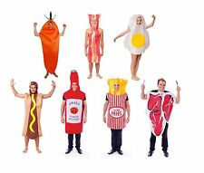 FOOD FUN FANCY DRESS #COMPLETE OUTFITS OF ALL TYPES ADULT ONE SIZE