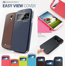 SAMSUNG GALAXY S3 S4 NOTE 2 IPHONE 4 4S 5 MERCURY GOOSPERY EASY VIEW COVER CASE