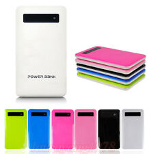 6000mAh Ultra-thin Touch Screen Slim Power Bank External Backup Battery Charger
