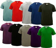 5 PACK NEW MENS ROUND NECK GILDAN SOFT COTTON T SHIRTS, CHOOSE YOUR PACK COLOURS