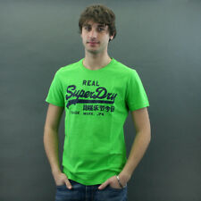 SuperDry T-SHIRT MOD. VINTAGE ENTRY Verde Acido