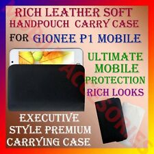 ACM-RICH LEATHER SOFT CARRY CASE for GIONEE P1 MOBILE HANDPOUCH COVER PROTECTION