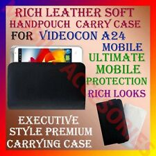 ACM-RICH LEATHER SOFT CARRY CASE for VIDEOCON A24 MOBILE HANDPOUCH COVER PROTECT