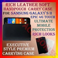 ACM-RICH LEATHER SOFT CARRY CASE for SAMSUNG GALAXY S2 EPIC 4G TOUCH HANDPOUCH