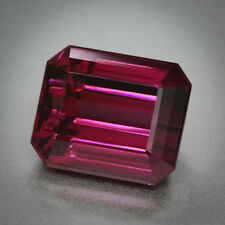 Masterpiece Collection:Octagon Faceted AAA Natural Rhodolite Garnet (5x3-10x8mm)