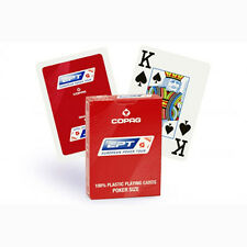 Carte Copag EPT European Poker Tour 100% plastica + card guard poker