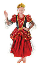 CHILD FANTASY GOLD #STAR PRINCESS FAIRY TALE DISNEY FANCY DRESS OUTFIT 3 SIZES