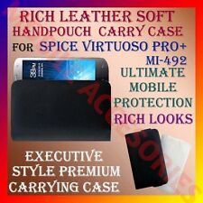 ACM-RICH LEATHER SOFT CARRY CASE SPICE VIRTUOSO PRO+ Mi-492 MOBILE COVER POUCH