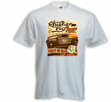 Hot Rod T-Shirt Whisker Pig weiß US Car Vintage  Rockabilly Tattoo Pinup
