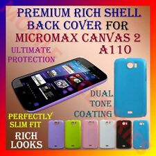 ACM-PREMIUM RICH MICROMAX CANVAS 2 A110 HARD SHELL BACK COVER CASE PANEL HOLDER