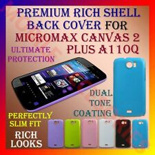 ACM-PREMIUM RICH MICROMAX CANVAS 2 PLUS A110Q HARD SHELL BACK COVER CASE PANEL