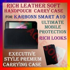 ACM-RICH LEATHER SOFT CARRY CASE for KARBONN SMART A10 MOBILE HANDPOUCH COVER