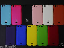 Premium Rubberised Hard Back Shell Cover Case Guard For Micromax Canvas 4 A210
