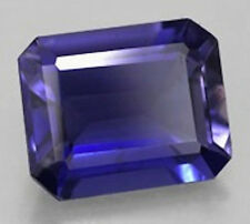 AAA Octagon Bright Blue Lab Created Sapphire (5x3mm-12x10mm)