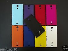 Premium Hard Back Shell Cover Case Pouch Guard For Sony Xperia ZR M36H