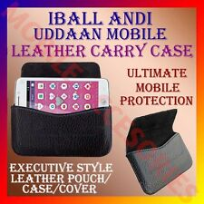 ACM-HORIZONTAL LEATHER CARRY CASE for IBALL ANDI UDDAAN MOBILE RICH POUCH COVER