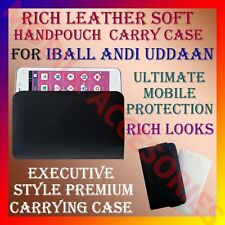ACM-RICH LEATHER SOFT CARRY CASE for IBALL ANDI UDDAAN MOBILE HANDPOUCH COVER