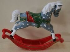 Dolls House Miniature 1/12th Scale Rocking Horse Pony (miniature non working)