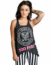 TOO FAST LADIES WOUNDED SEAL  TANK / VEST TOP / TEE SIZES  S-XL   (B2B)