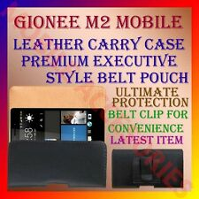ACM-BELT CASE for GIONEE M2 MOBILE LEATHER CARRY POUCH COVER CLIP PREMIUM HOLDER