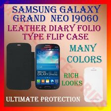 ACM-LEATHER DIARY FOLIO FLIP FLAP CASE for SAMSUNG GALAXY GRAND NEO I9060 COVER