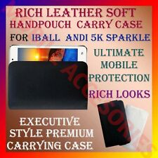 ACM-RICH LEATHER SOFT CARRY CASE for IBALL ANDI 5K SPARKLE MOBILE COVER POUCH