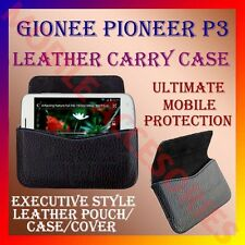 ACM-HORIZONTAL LEATHER CARRY CASE for GIONEE PIONEER P3 MOBILE POUCH COVER NEW