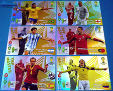 Panini Adrenalyn WM Brasilien 2014 - Top Master & Game Changer aussuchen Brazil