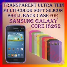 ACM-TRANSPARENT ULTRA THIN MULTICOLOR SILICON for SAMSUNG CORE I8262 BACK COVER