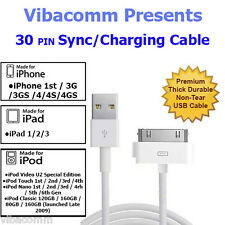 USB SYNC & CHARGER CABLE LEAD FOR iPOD NANO TOUCH iPHONE 3G 3GS 4 4S iPAD 1 2 3